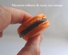 Les receptes del Miquel: Macarons rellenos de cacao con naranja