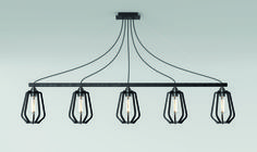 Farrier's Cage - Five Bar - Teardrop Exclusively available from Heal's Queens lighting showroom