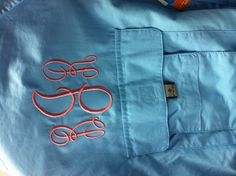 in love with my monogrammed pfg!