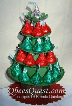 I had a flash of inspiration while buying Hershey's kisses for a small get together this week. I envisioned Hershey's kisses stacked up ...
