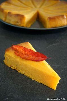 Gâteau fondant à la courge butternut, vanille et citron | Gourmandise & Cie