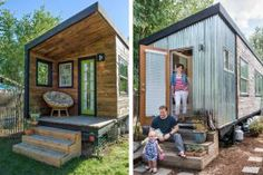 The tiny house movement is all about downsizing your home and lifestyle so you can live a more fulfilling life without debt.: This Home Cost Less Than $12,000 to Build