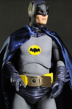 1966 Batman Television show 1/4 scale action figure by NECA