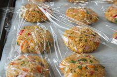 chickpea veggie burgers 3169   How To Prep and Freeze Veggie Burgers: A Tutorial