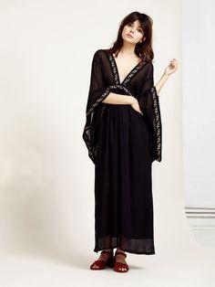 Floral Panel Maxi Dress - Ghospell – Sister Jane