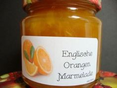 Englische Orangenmarmelade - Rezept mit Bild The perfect English orange jam recipe with picture and Snowflake Christmas Cookies, Christmas Desserts, Christmas Diy, Chutneys, Orange Jam Recipes, Party Buffet, Food Pictures, Candle Jars, Food And Drink