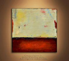 SALE..Painting Acrylic Wall Decor  LANDSCAPE  by erinashleyart