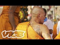 タイでタトゥーに取り憑かれる?! - Possessed By Ink: Thai Tattoo Festival - YouTube