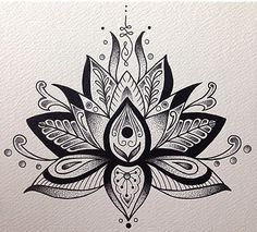 Image result for lotus mandala foot tattoo