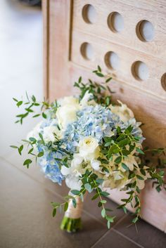 blue hydrangea bouquets - photo by DarinImages http://ruffledblog.com/this-bride-is-sharing-all-you-need-to-know-about-a-destination-wedding-in-thailand