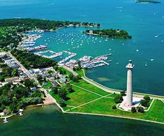 South Bass Island, Ohio  Formed by glaciers, this island in western Lake Erie is jam-packed with activities—the perfect place for families on the go. Much like a New England seaport!
