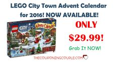 Don't Miss Out! The LEGO City Town Advent Calendar for 2016 is available! Grab it NOW while it is available! It will be harder to find as we get closer to Christmas!  Click the link below to get all of the details ► http://www.thecouponingcouple.com/lego-city-town-advent-calendar-2016-29-99/ #Coupons #Couponing #CouponCommunity  Visit us at http://www.thecouponingcouple.com for more great posts!