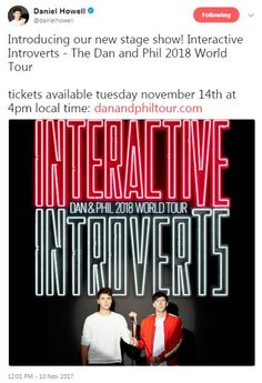 It's not fair that they're coming an hour away from where I live and I can't go