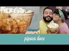 Pipoca Doce (feita com milho comum no micro-ondas) | Cozinha para 2 - YouTube
