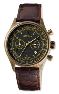 Mens Quartz Chronograph Watch - Vintage Chronograph -- Orvis on Orvis.com! Like the watch but not the strap