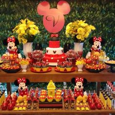 Encontrando Ideias: Festa Minnie!!
