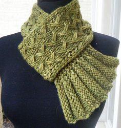 Twist & Flounce by Sharon Dreifuss (She-Knits); pattern on Ravelry for $4.00