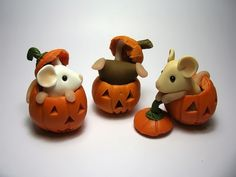 clay pumpkins | ... polymer clay in 2009 after leaving behind a 15 year career in law
