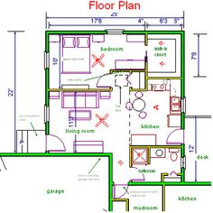 in-law suite floor plan idea