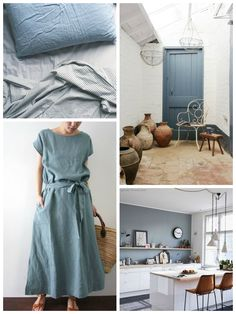 Denim drift is the predicted colour of the year in I love this selection of grey-blues in this moodboard. Calm, quite and soothing shades of blue to use in your home and wear. Wall Colors, House Colors, Colours, Denim Drift, Color Of The Year 2017, Paint Color Schemes, Blue Walls, Home Staging, Pantone Color