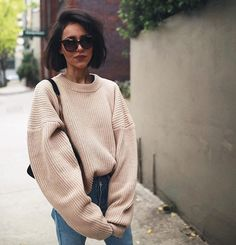 WEBSTA @ pepamack - Wearing jumper by @hm and sunnies by @paredeyewear