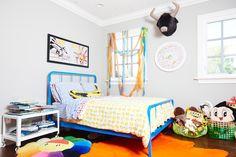 fun and vibrant // boys room