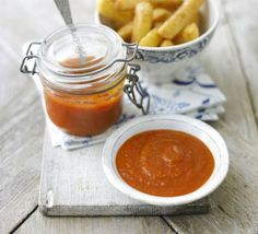 Homemade ketchup -- This spicy version calls for Tobasco.