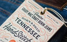 25 Examples of Luxurious Hang Tag Designs