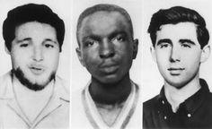 June 21,  1964: THE KKK KILLS THREE CIVIL RIGHTS ACTIVISTS  -   The Ku Klux Klan murders three civil rights activists in Mississippi.
