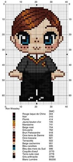 New embroidery patterns harry potter design Ideas Beaded Cross Stitch, Cross Stitch Charts, Cross Stitch Designs, Cross Stitch Embroidery, Embroidery Patterns, Cross Stitch Patterns, Crochet Patterns, Harry Potter Crochet, Harry Potter Quilt