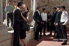 #dolcegabbana FW14 mens campaign shot by Domenico Dolce
