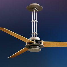 "56"" Minka Aire San Francisco Brushed Steel Ceiling Fan - #88524 | LampsPlus.com"
