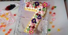 Cómo preparar una tarta con forma de número