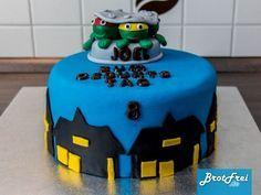 Anleitung und Rezept für eine Ninja Turtles Torte