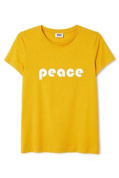 Weekday image 6 of Sansa T-Shirt in Yellow Reddish