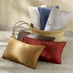 Pure Silk Filled Pillows  #silk #pillow