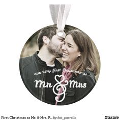 First Christmas as Mr. Photo Ornament by: kat_parrella A lovely first Christmas theme, feature your photo on this ornament today! Photo Christmas Ornaments, Silver Christmas Decorations, Christmas Hearts, Personalized Christmas Ornaments, Christmas Photos, Christmas Themes, Xmas, Christmas Gifts, Merry Christmas