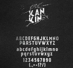 Free fonts KanKin