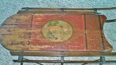 antique child's sled antique appraisal | InstAppraisal