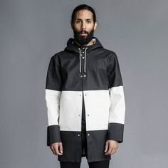 Quality Stockholm Raincoats & Jackets from Stutterheim USA. Explore our finest collection of Stockholm Raincoats. Blue Raincoat, Dog Raincoat, Raincoat Jacket, Hooded Raincoat, Raincoats For Women, Jackets For Women, Cheap Rain Jackets, Sewing Patterns, Jackets