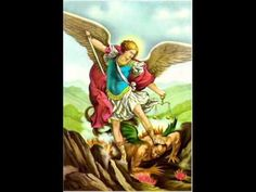 Shop St Michael Archangel Poster San Miguel Arcangel created by Catoliquisimo. Personalize it with photos & text or purchase as is! Saint Michael, St Michael Prayer, St Micheal, Chaplet Of St Michael, Pope Leo Xiii, True Vine, Catholic Prayers, Catholic Bible, Angel Prayers