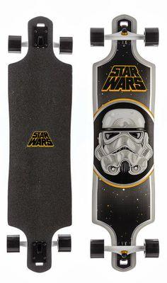 Star Wars Storm Trooper Longboard