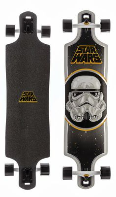 Star Wars Storm Trooper Longboard