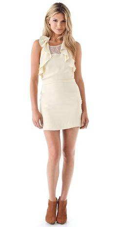 Pencey Ruffle Dress