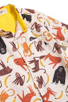 Camisa Macaquitos | Fábula
