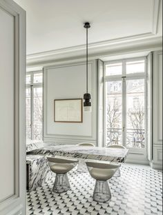 Joseph Dirand, Avenue Montaigne Apartment Paris, Kitchen