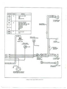 1967 chevy pickup headlight schema cablage