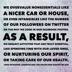 Greg McKeown, Essentialism: The Disciplined Pursuit of Less