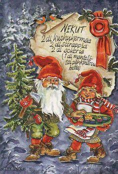 ˇˇ Swedish Christmas, Old World Christmas, Christmas Fairy, Scandinavian Christmas, Vintage Christmas, Christmas Holidays, Christmas Cards, Christmas Ornaments, Yule