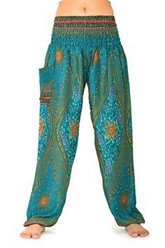 Bangkokpants Womens Hippie Boho Peacock Pants Green One Size Fits Bangkokpants http://www.amazon.com/dp/B00R6GW9YQ/ref=cm_sw_r_pi_dp_7XHWvb0DWSHV3